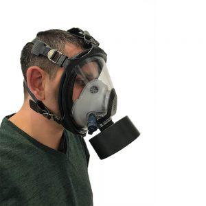 Panoramic Rubber Mask